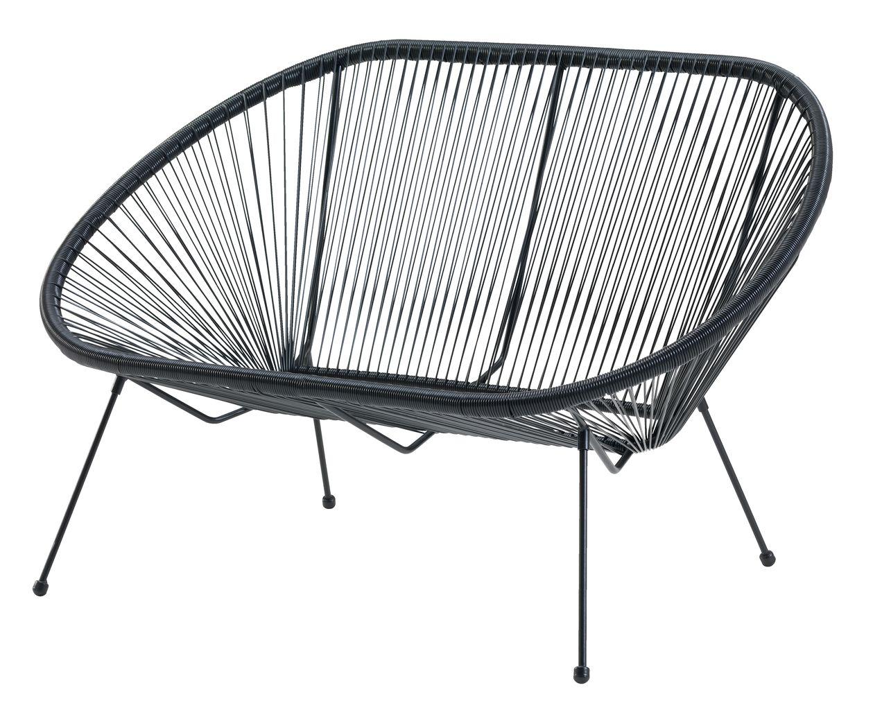 Oppdatert Lounge sofa UBBERUP 2 pers. black | JYSK RY-91