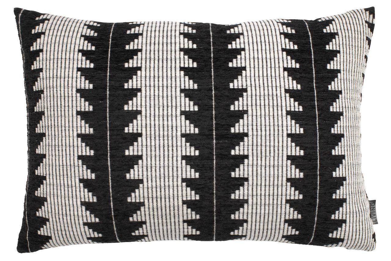 Cushion Skogsiv 40x60 Black White Jysk