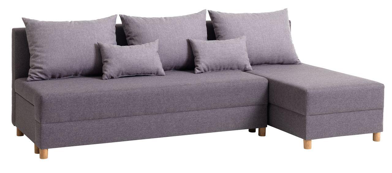 adidași 100% autentic cele mai ieftine Canapea extensibilă sezlong HAMPEN gri | JYSK