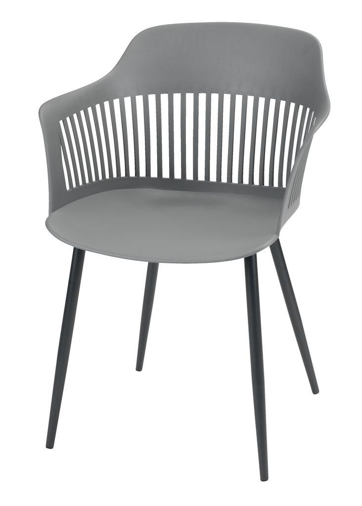 Stol RAVNEBAKKE grå
