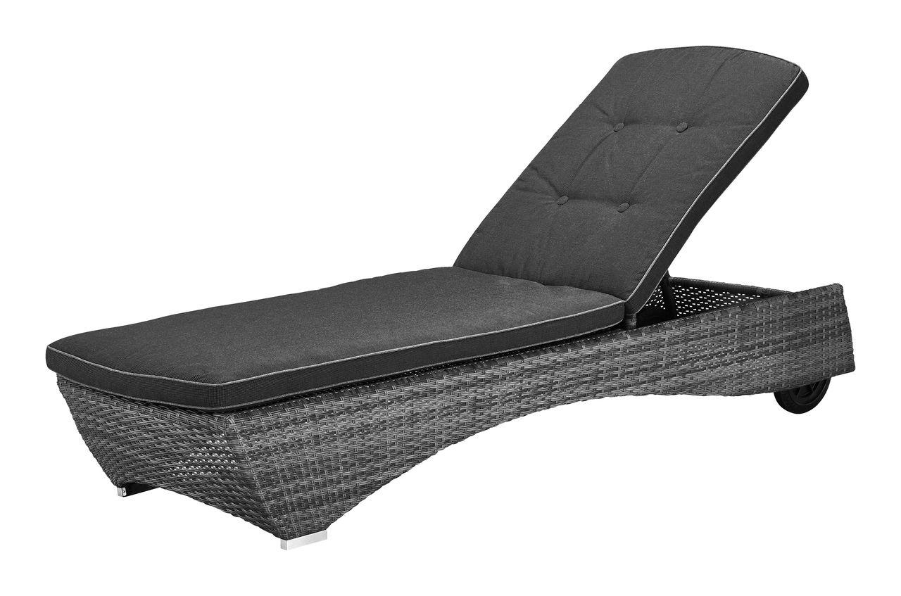 Sonnenliege Colombo 60x195 Grau Danisches Bettenlager