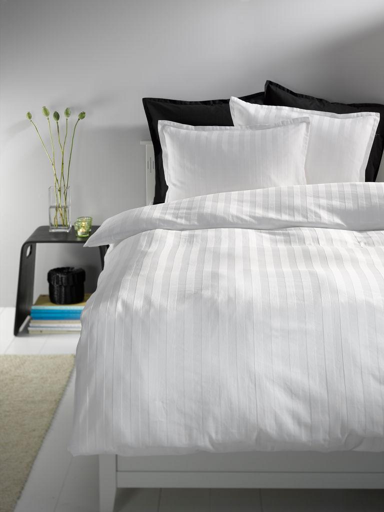 sengetøj kronborg Sengesæt NELL satin SGL hvid | JYSK sengetøj kronborg