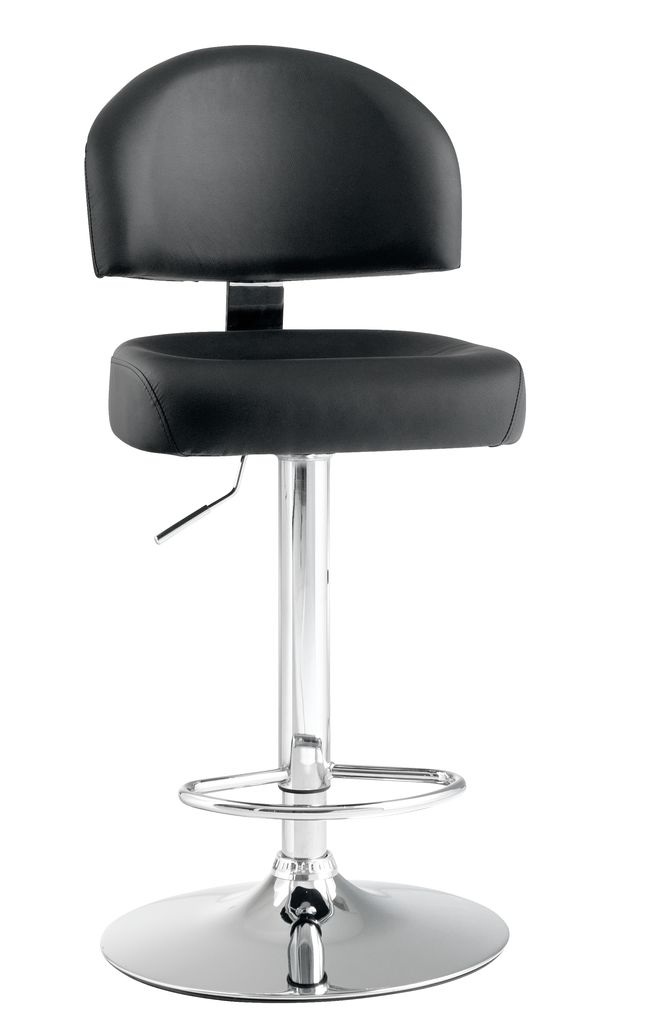 jysk barstol Bar stool VEJERS black/chrome | JYSK jysk barstol