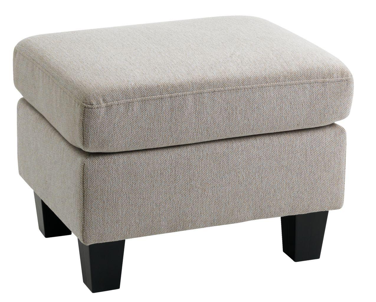 puff gedser sandfarget stoff jysk. Black Bedroom Furniture Sets. Home Design Ideas