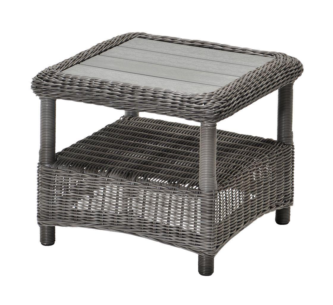 Hörnbord FALKENBERG B50xL50xH45 grå