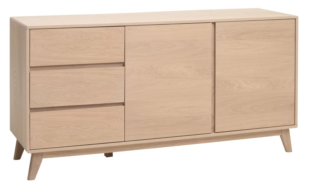 sideboard kalby light oak jysk. Black Bedroom Furniture Sets. Home Design Ideas
