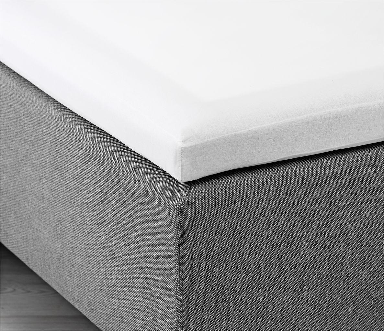 kuvertlagen Kuvertlagen 180x200x6 10cm hvid | JYSK kuvertlagen