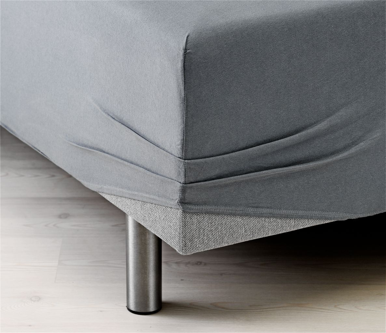 Fin Jerseylagen 180x200/210x40cm grå | JYSK CL-57