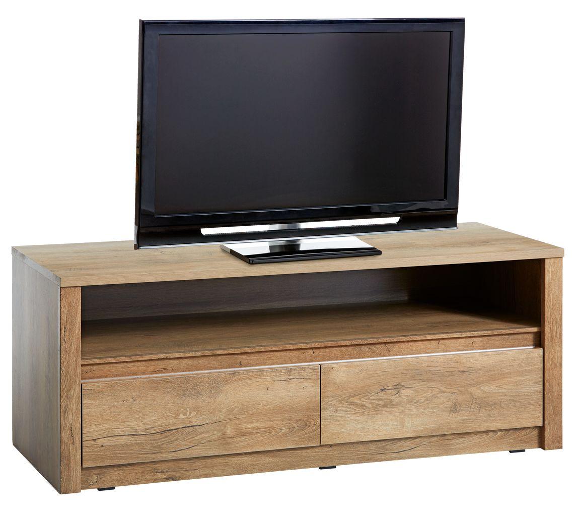 tv-meubel vedde 2 lades wild eiken   jysk, Deco ideeën