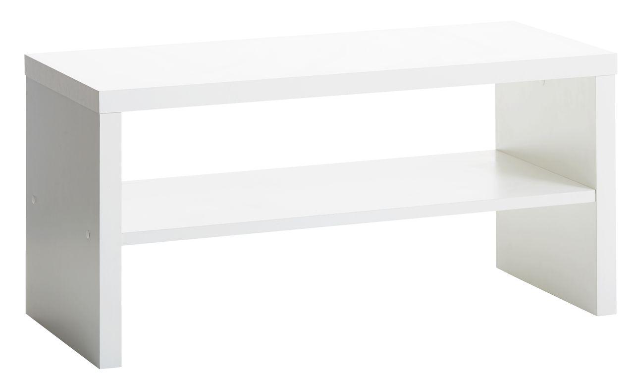 tv bord kagstrup 1 hylde hvid jysk. Black Bedroom Furniture Sets. Home Design Ideas
