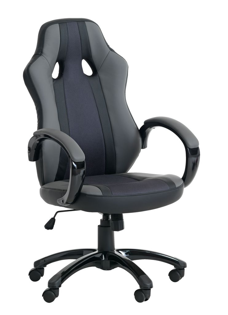 Gaming Chair Aggestrup Grey Black