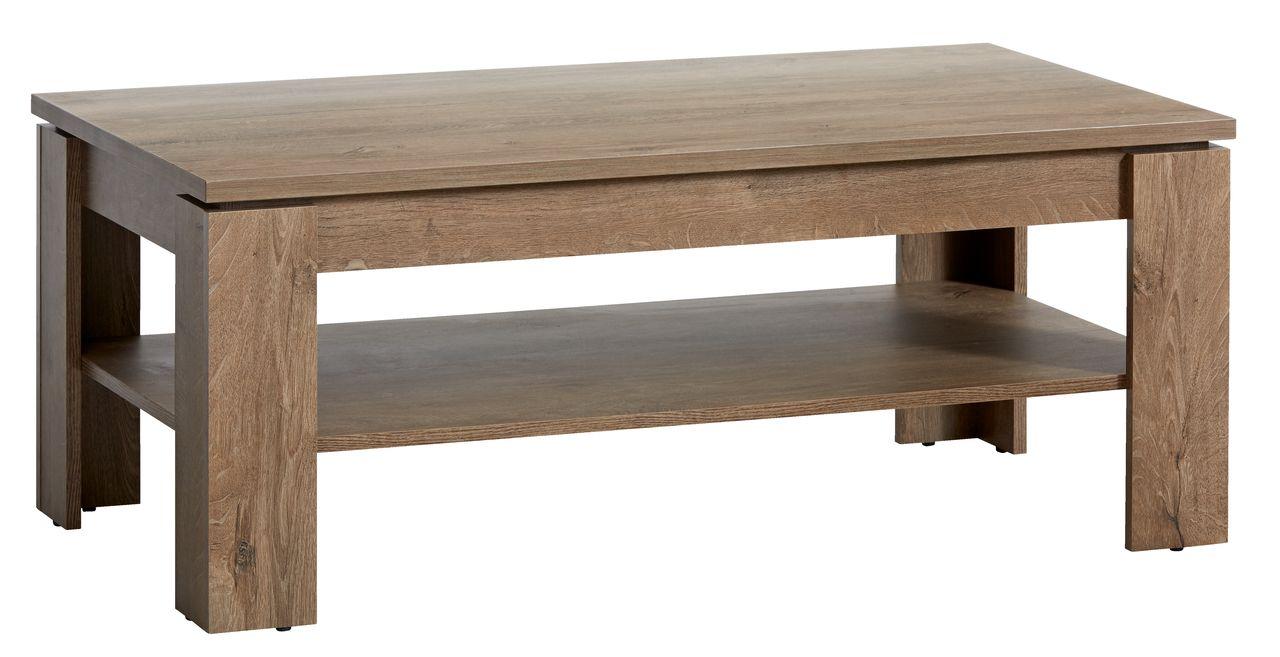 Side Table Jysk.Coffee Table Vedde 60x110 Cm Wild Oak Jysk