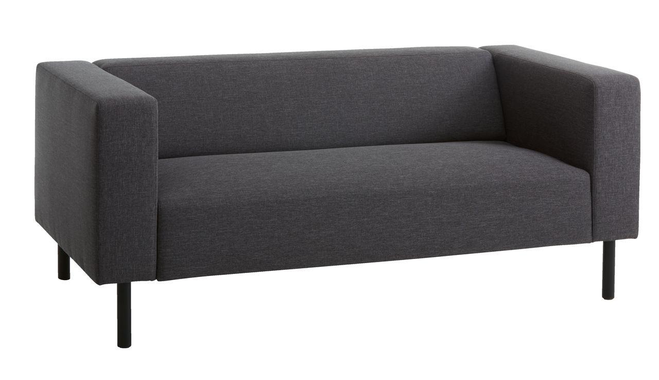 2 5 zitsbank karise antraciet grijs jysk. Black Bedroom Furniture Sets. Home Design Ideas