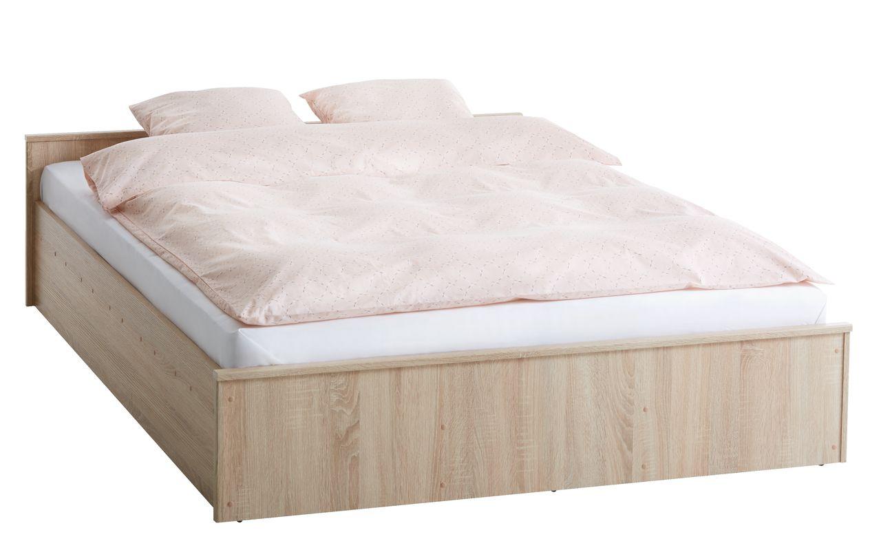 Rama łóżka Gentofte 160x200 Dąb