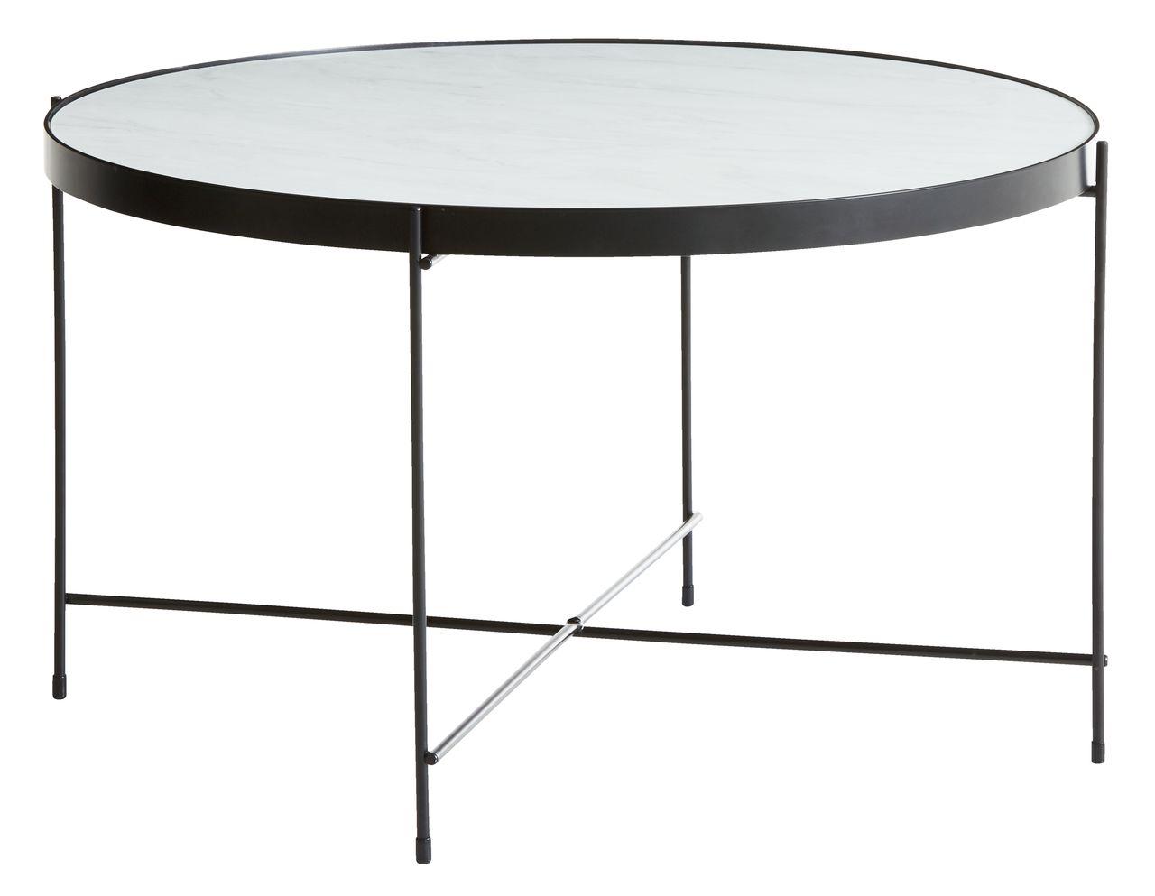 Terrific Coffee Table Hadbjerg D70 Cm Oak Black Andrewgaddart Wooden Chair Designs For Living Room Andrewgaddartcom