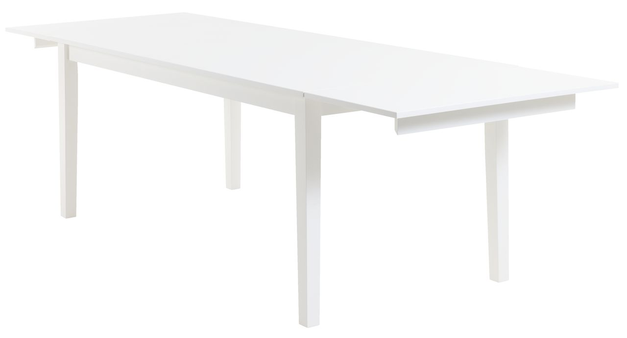 Matbord NORDBY 90x180 vit | JYSK