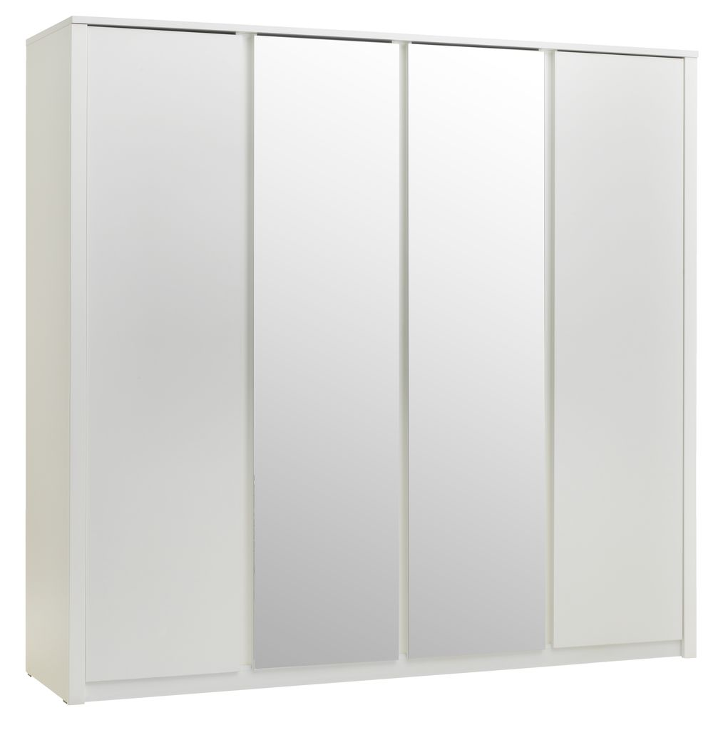 Enormt Skap VEDDE 219x209 m/speil hvit | JYSK YS-07