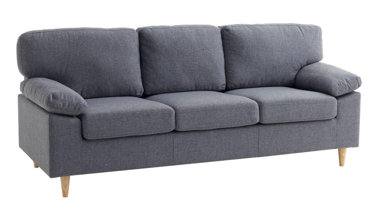 Sohva GEDVED 3 istuttava harmaa