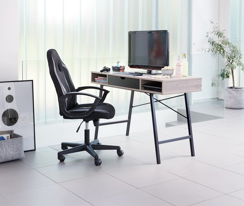 Gaming chair HARLEV black/grey