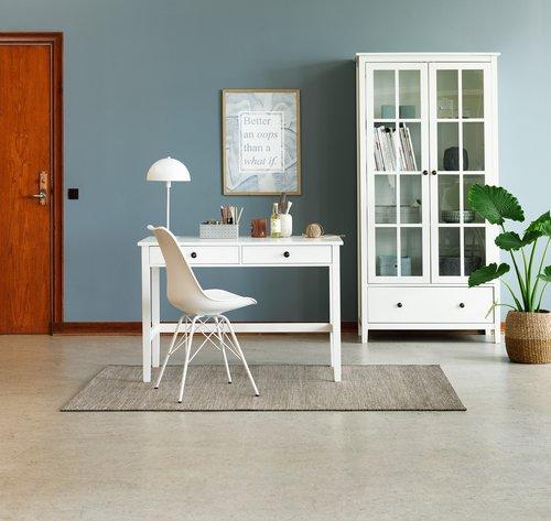 Jídelní židle KLARUP bílá/bílá