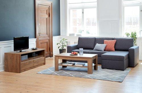 TV stolek VEDDE divoký dub