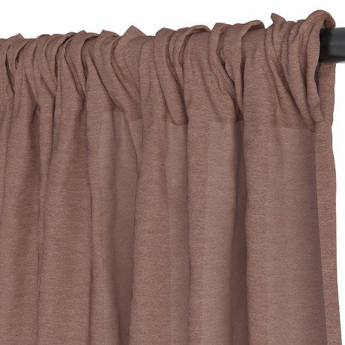 Gardin LOPPA 1x135x300 skrynklad rosa