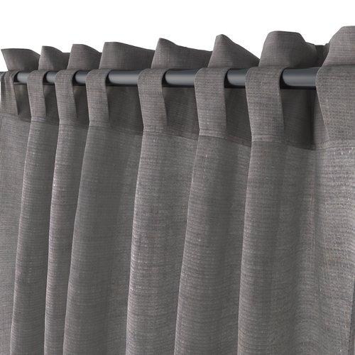 Gardin UNNEN 1x140x245 lin-look grå