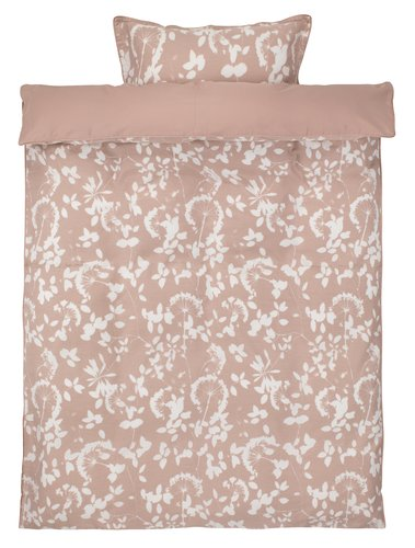 Bedding set DAGMAR Sateen SGL rose