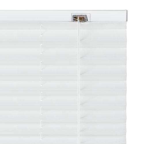 Plisségardin SALTHOLM 90x210 hvit