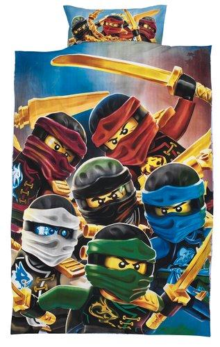 Påslakanset LEGO NINJAGO SGL