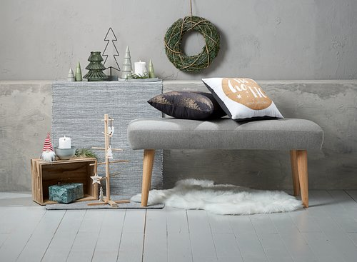 Vianočné dekorácie ELLE V9 cm 3 ks/bal.