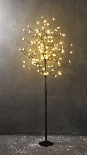 Lystræ BYLEIST H150cm m/blomster LED