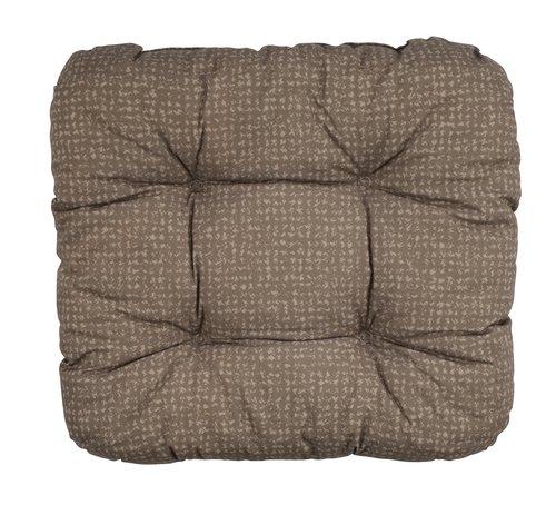 Pernă de scaun HASSELURT 40x40x8 maro