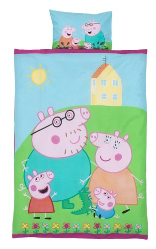 Duvet cover PEPPA PIG JUN