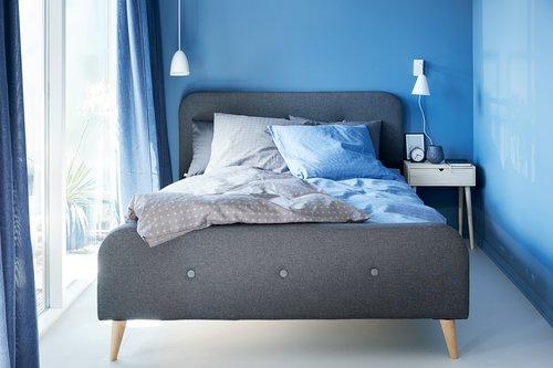 Set posteljine KATJA 140x220 plava