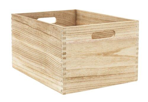 Коробка THORMOD 40х30х22см дерево