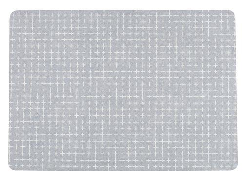 Tischset ARTISKOKK 30x43 grau