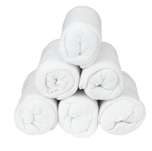 Σεντόνι πετσετέ 160x200x25cm λευκό