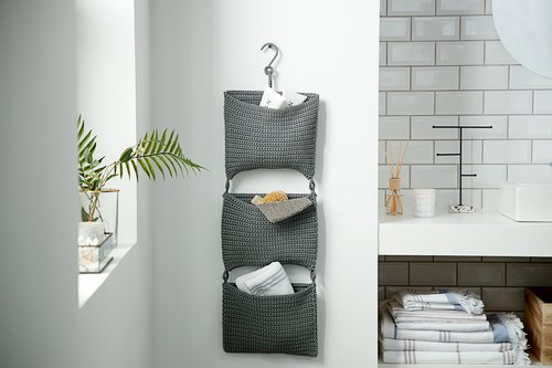 Hanging storage STOBY W29xH75 grey
