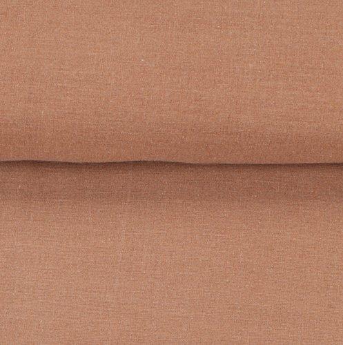 Duvet cover SANNE washed cotton SGL brwn