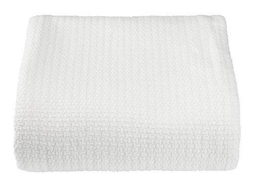 Cuvertură TALL 160x220 alb-murdar