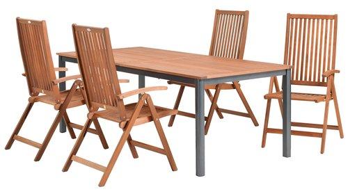 Pöytä YTTRUP L100xP210/300 kovapuu