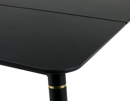Masă THISE 102x182 neagră