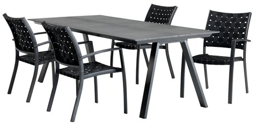 Table FAUSING W100xL220 black
