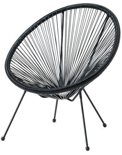 Садовое кресло UBBERUP черный