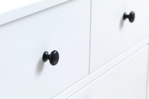 Shoe cabinet TERPET 2 comp. white