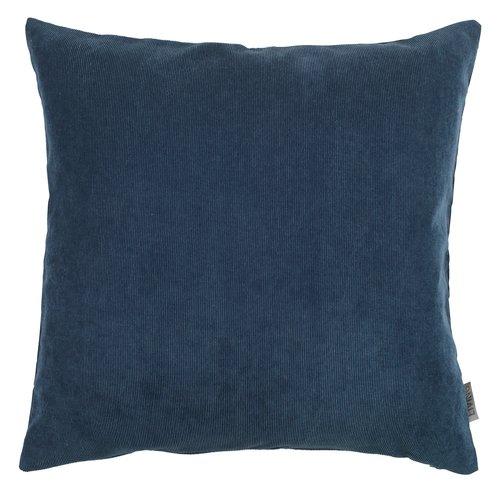 Чехол DUSKULL 50x50 см вельвет синий