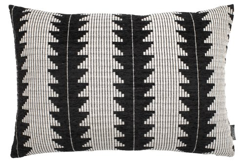 Pyntepute SKOGSIV 40x60 svart/hvit