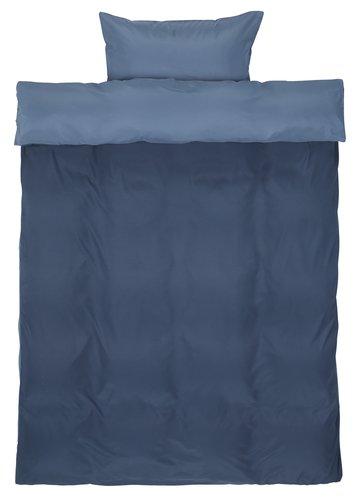 Ágyneműhuzat CATERINA mikro kék