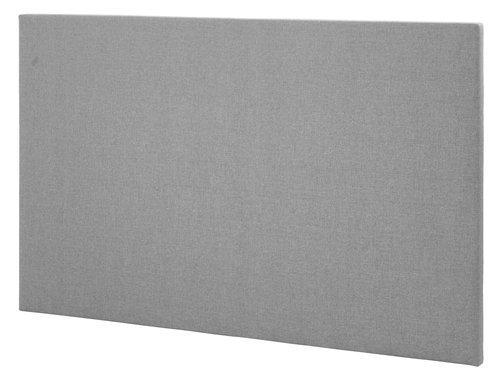 Hoofdbord 150x115 H10 effen grijs-23